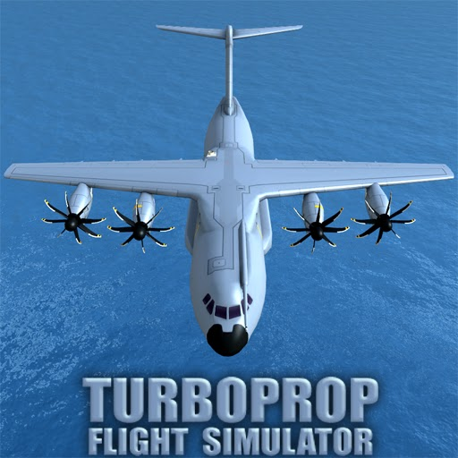 Turboprop Flight Simulator 3D (MOD, Unlimited Money)