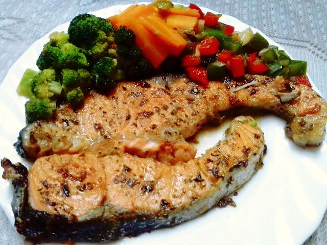 Nemomimosh Resepi Diet Salmon Grill Mudah Dan Sedap