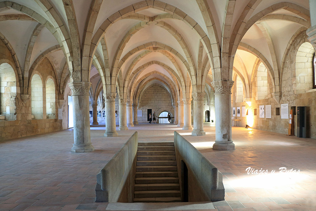 Dormitorio de los monjes del Monasterio de Alcobaça