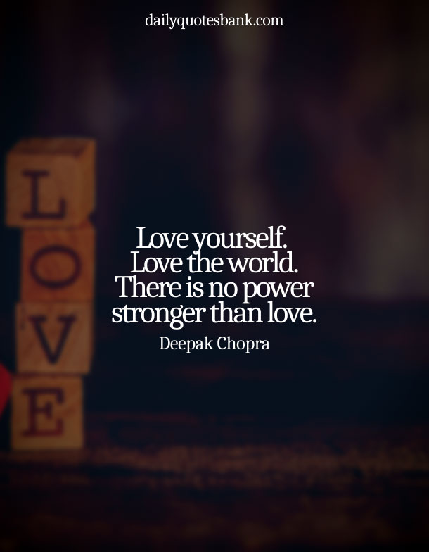Beautiful Quotes On Love Yourself First