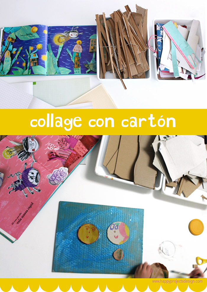 Collage con cartón