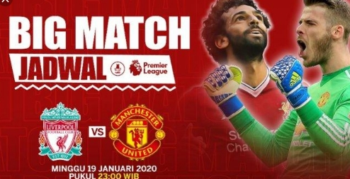 Live Streaming Liverpool VS MU