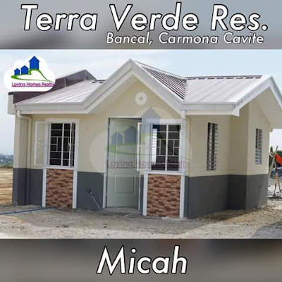 MICAH (ROWHOUSE) - TERRAVERDE RESIDENCES AFFORDABLE HOUSE AND LOT SALE RENT TO OWN CAVITE