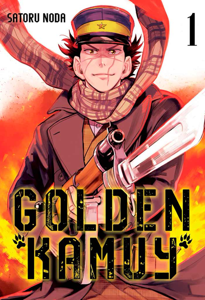 Golden Kamuy manga - Satoru Noda - Milky Way Ediciones