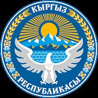 Logo Gambar Lambang Simbol Negara Kirgizstan PNG JPG ukuran 200 px