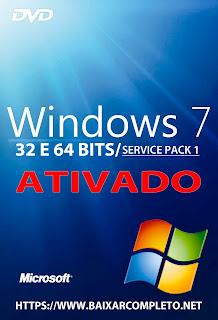 Baixar Windows 7 SP1 32/64 Bits PT-BR 2018 Todas as Versões