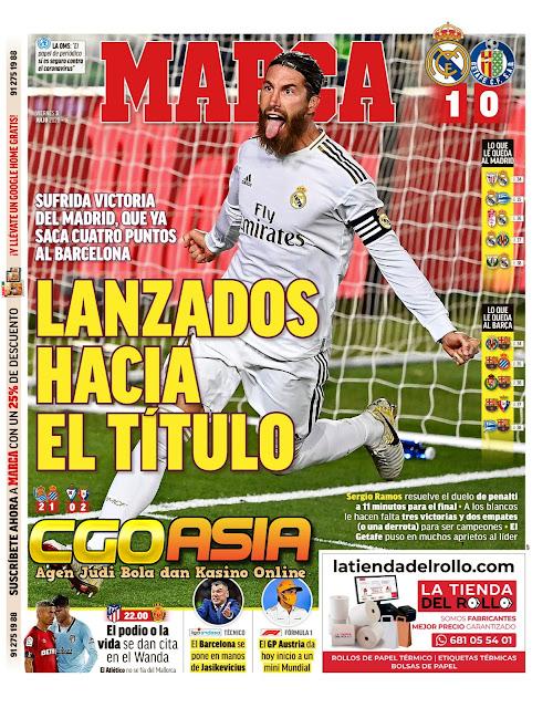 Gol tunggal penalty Ramos membawa Real menjauh - Rumahsport.com