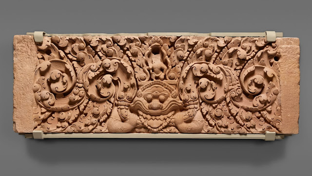 1,000-year-old looted temple lintels repatriated to Thailand