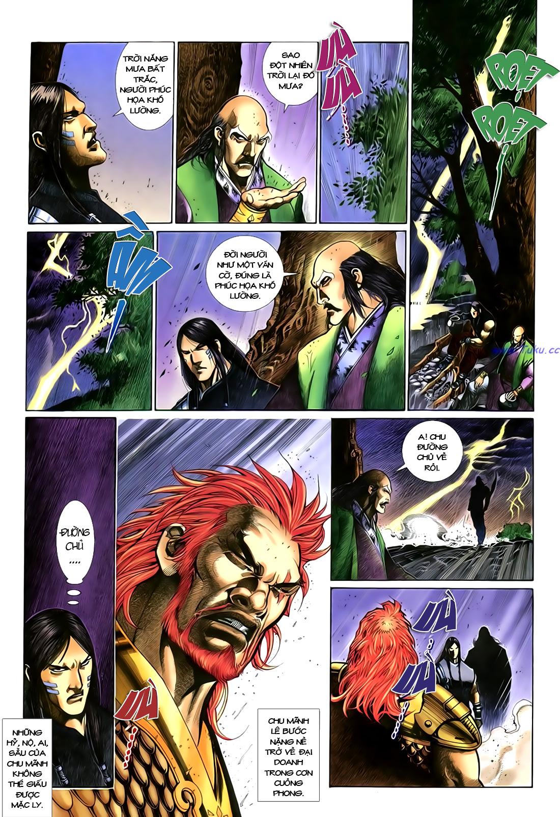 Anh hùng vô lệ Chap 18 trang 20