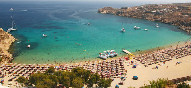 Praia Super Paradise, Mykonos