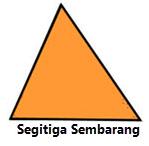 Segitiga Sembarang www.simplenews.me