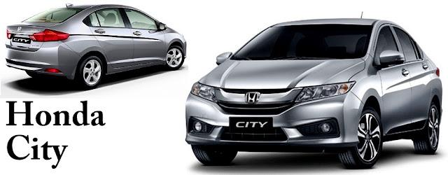 Honda City - 10 Model Kereta Pilihan Rakyat Malaysia 2016