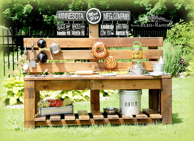 Kids Mud Pie Station Bliss-Ranch.com