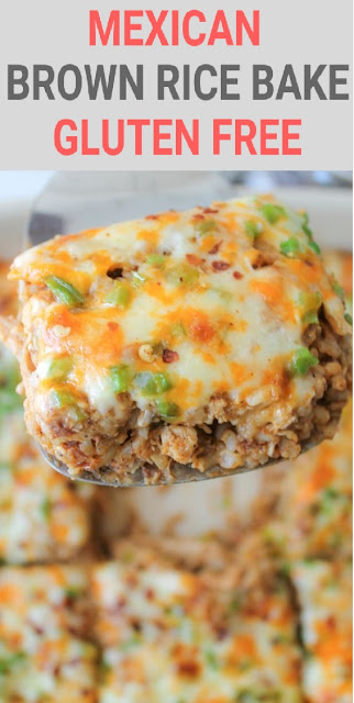 Mexican Brown Rice Bake – Gluten Free