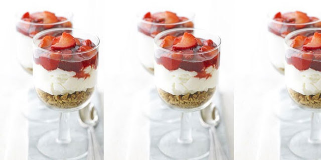 Resep Puding Strawberry Cheese Cake