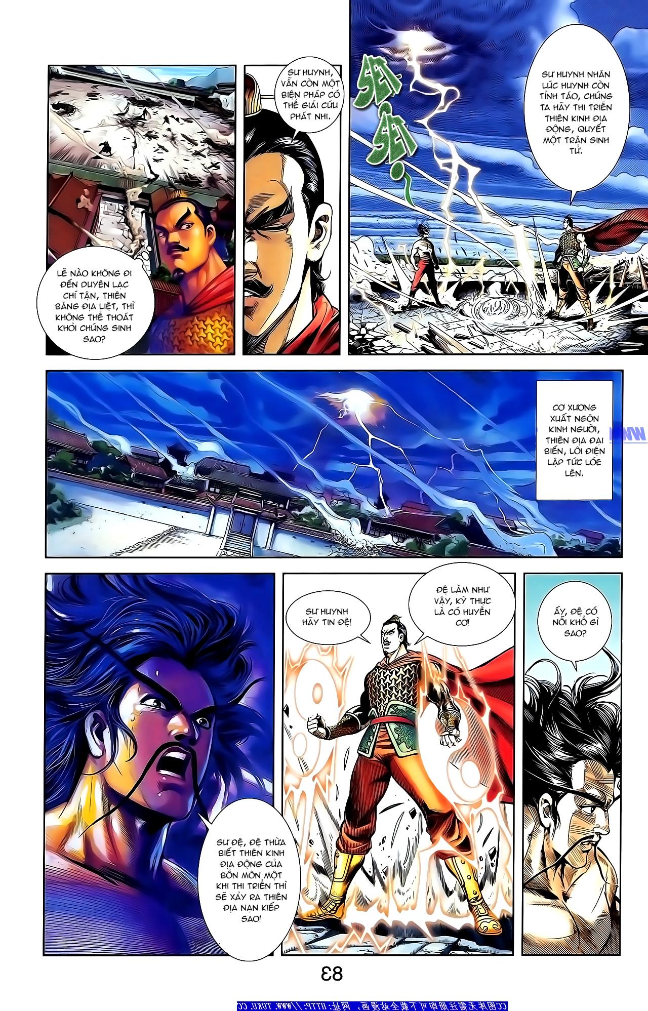 Cơ Phát Khai Chu Bản chapter 152 trang 3