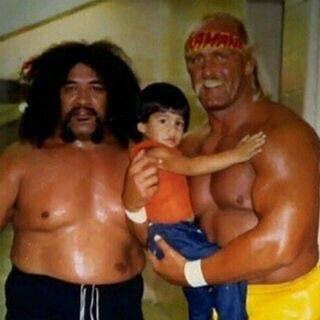 Roman Reigns when he was a baby