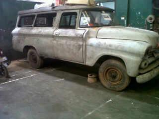 Dijual Mobil Antik Angkutan Jadoel Chevrolet Apache 3100 th 58 - LAMPUNG