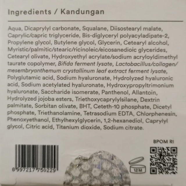 ingredients studio tropik rich skin barrier cream