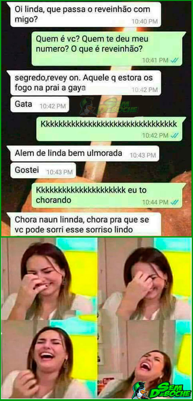 AINDA SOBRE O REVEILLON