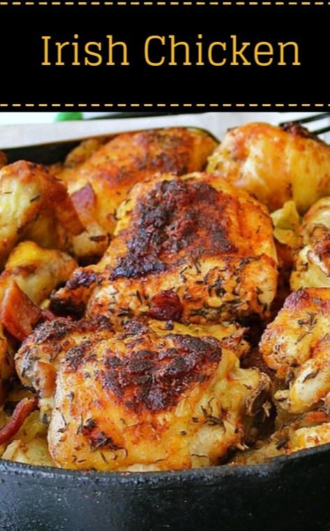 Irish Chicken with Cabbage