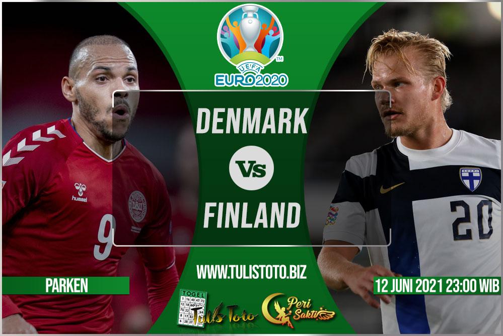 Prediksi Denmark vs Finland 12 Juni 2021