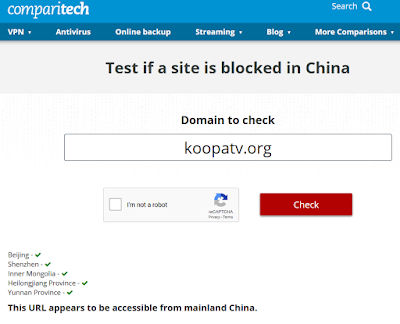 comparitech KoopaTV.org accessible from China April 2020