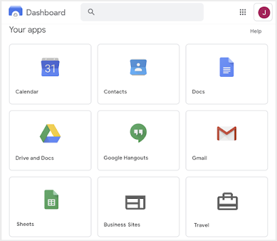 A revamped home for all your G Suite apps