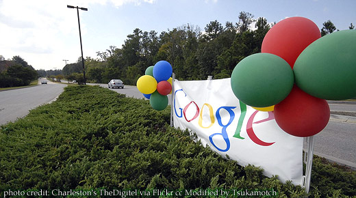 Baloons at the entrance photo credit by Charleston's TheDigitel