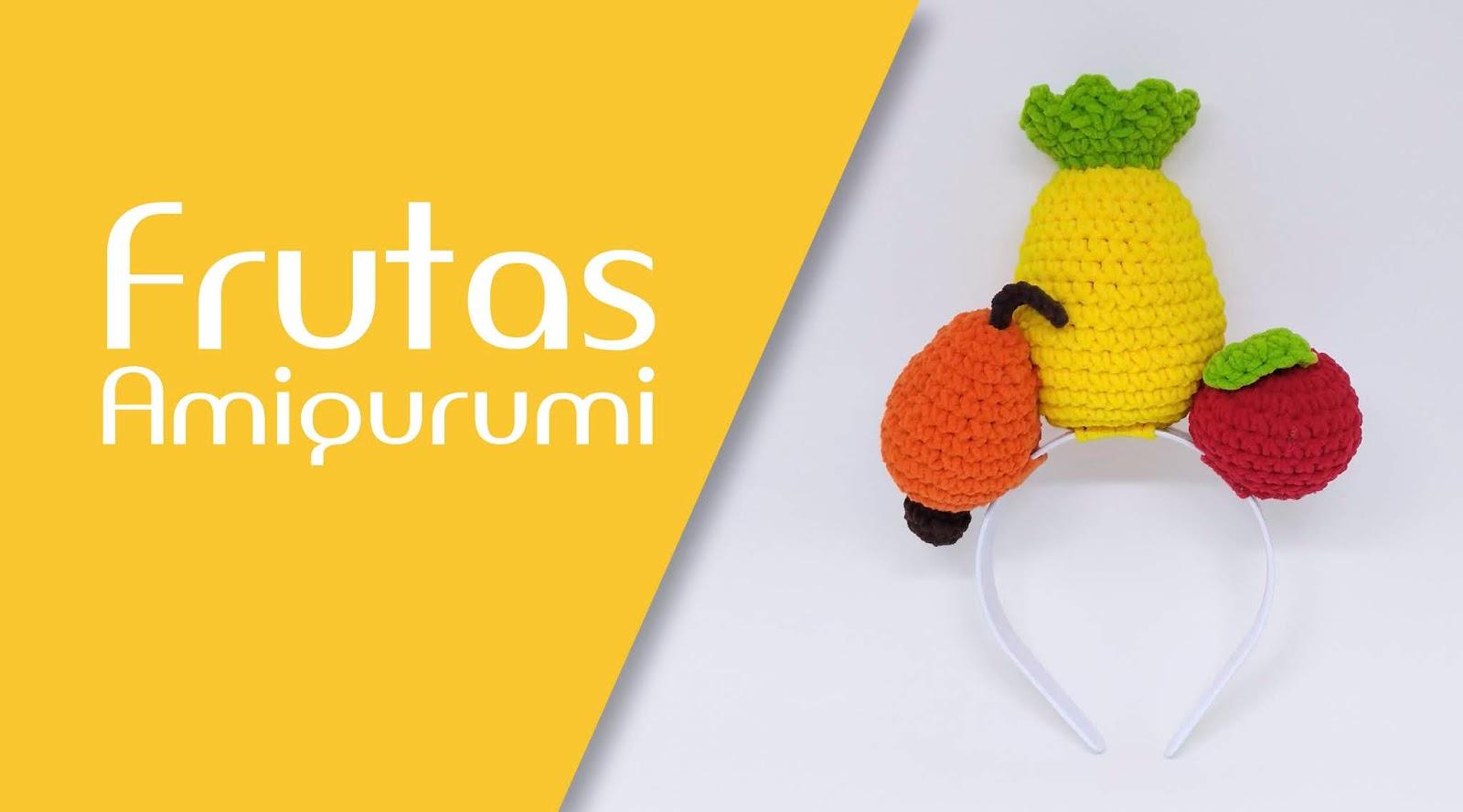 amigurumi frutas em crochê. - YouTube | 888x1600