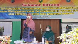 Bunda Niken Apresiasi Inovasi Desa Kerekeh Kecamatan Unter Iwes