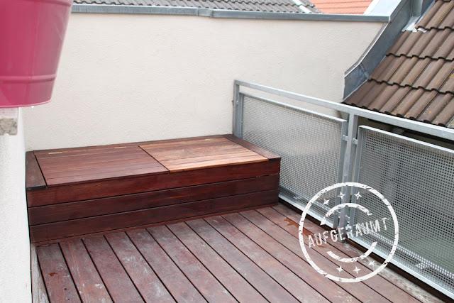 unser balkon der bau und das makeover endlich k nnen wir draussen sitzen ordnungsliebe. Black Bedroom Furniture Sets. Home Design Ideas