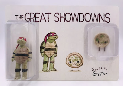 Gallery 1988 Exclusive The Great Showdowns TMNT Raphael Resin Figure Set by Scott C
