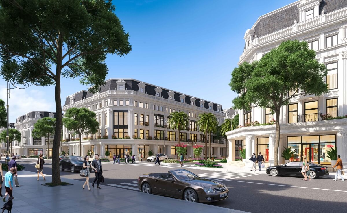 Nhà phố thương mại Louis City Tân Mai