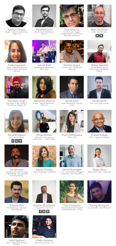 speakers, ias2018, affiliate marketers