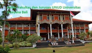 Daftar fakultas sarjana magister doktor UNUD Universitas Udayana Bali Terbaru, daftar jurusan sarjana magister doktor, daftar program studi sarjana magister doktor UNUD Universitas Udayana Bali Terbaru