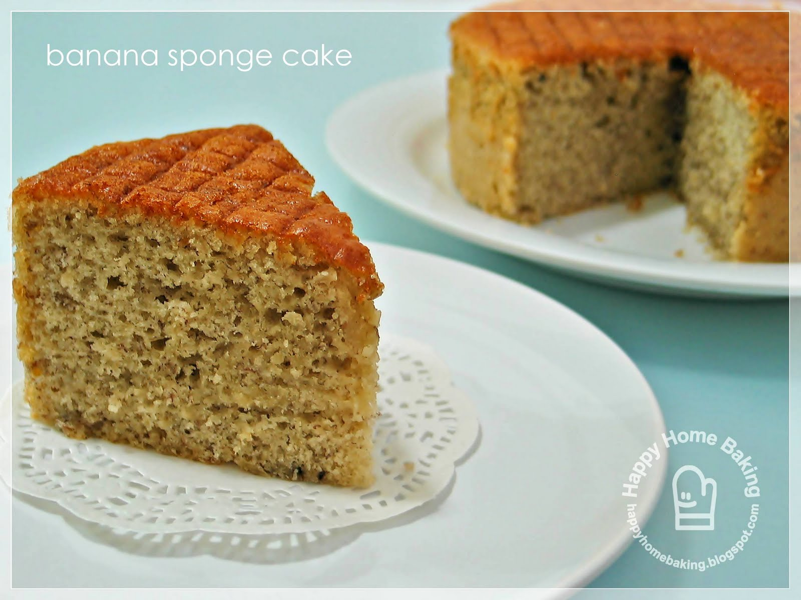 Banana Cake Recipe With Oil Joy Of Baking: Happy Home Baking: My Latest Endeavour