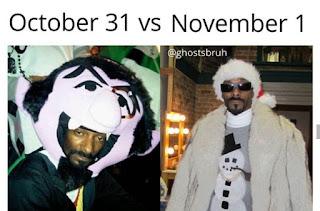 Halloween Costume Meme by @ghostbruh on Instagram