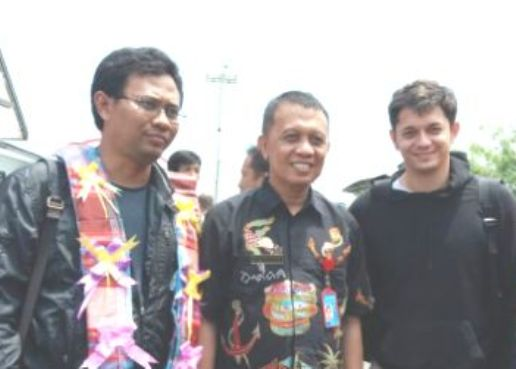 Sekda Selayar ,Jemput, Tim Kemenpar RI, Di Bandara