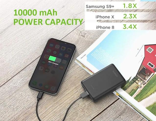 Omars 10000 mAh Power Bank