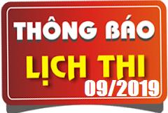 Lịch thi sát hạch lái xe ô tô B1, B2, C, D, E tháng 09/2019 tại Hà Nội