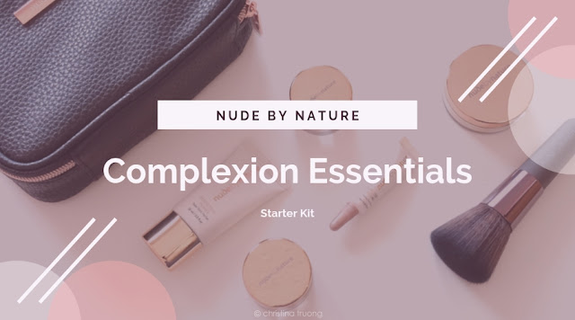 Nude by Nature Complexion Essentials Starter Kit Review in W4 Soft Sand