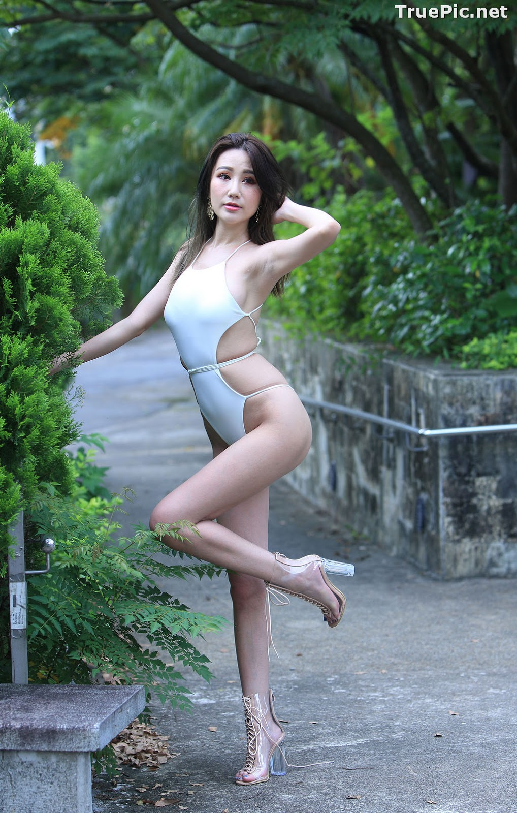 Image Taiwanese Beautiful Model - Suki - White Sexy Bikini Girl - TruePic.net - Picture-10