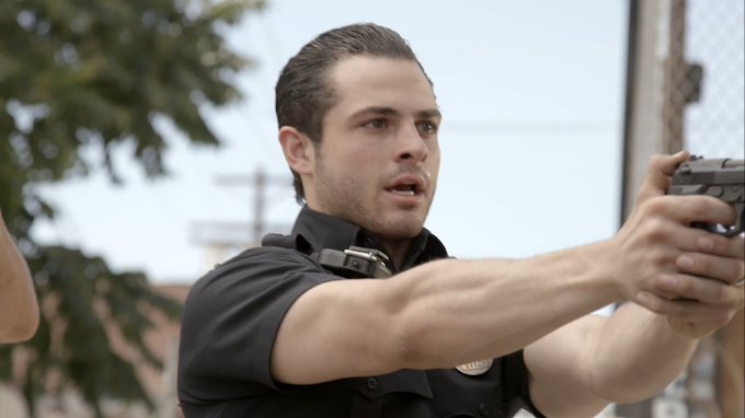 Y&R's Zach Tinker Plays Cop In New Film - Watch Here!