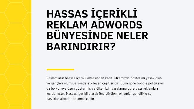 Adwords Hassas İçerikli Reklam