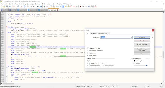 Cara Membuat Website Al-Quran Menggunakan PHP 6