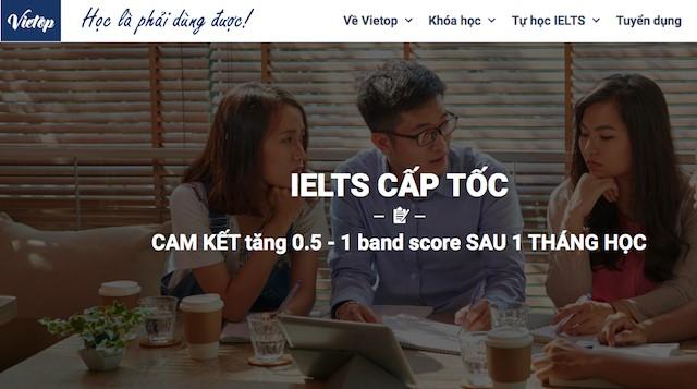 Khóa học IELTS cấp tốc giúp tăng band score trong thời gian ngắn nhất