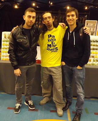 Fran, Pablo y Vicen