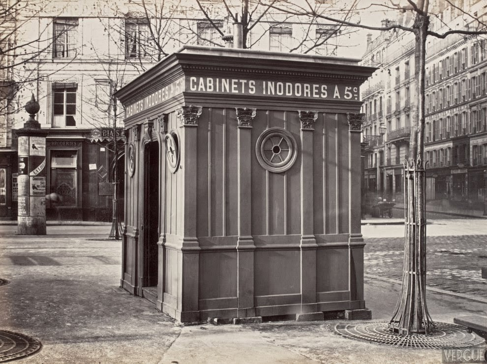 20 vintage photographs of public urinals in paris in the. Black Bedroom Furniture Sets. Home Design Ideas