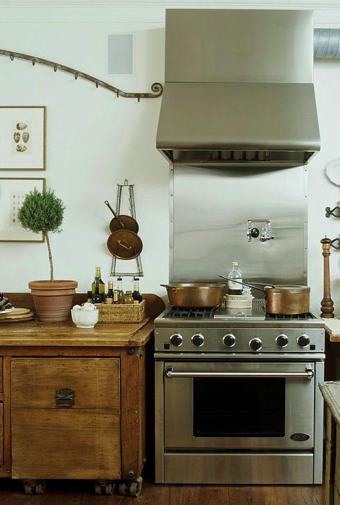 Mod Vintage Life: Salvaged Kitchen
